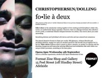 Folie a Deux' Exhibition Postcard