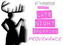 'Late Night Shopping' Banner Design, 2013