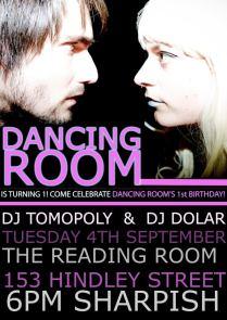 'Dancing Room' Poster, 2012