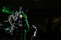 Light Painting #4 2013 Digital Photograph